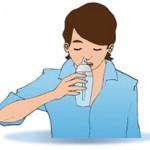 Irrigation intense : garder la tête droite